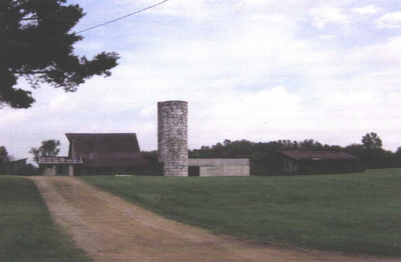 Franklin Fry's 30-acre farm (photo from 2008)
