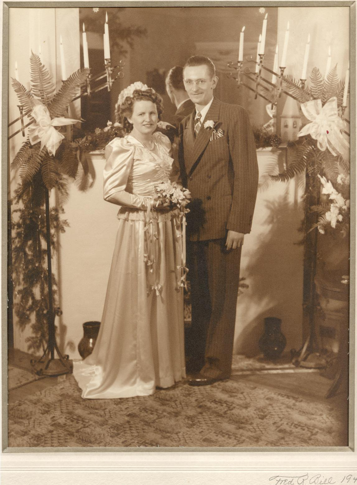 Evelyn and Edward Czernek wedding