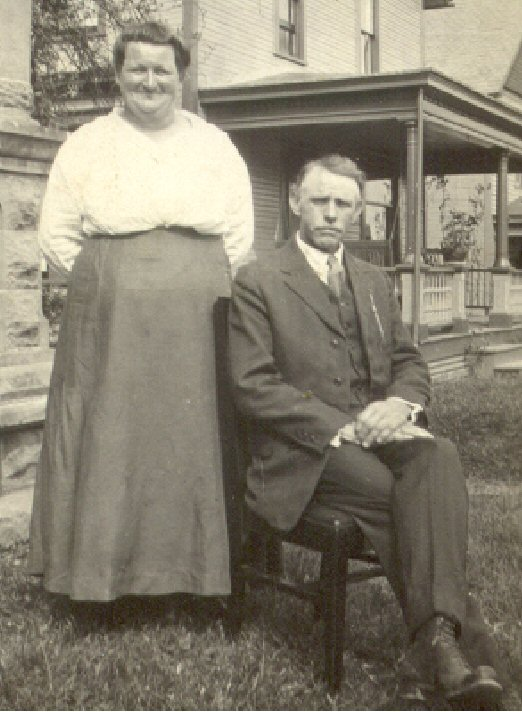 Maude Mae Sisson and George Benton Fry