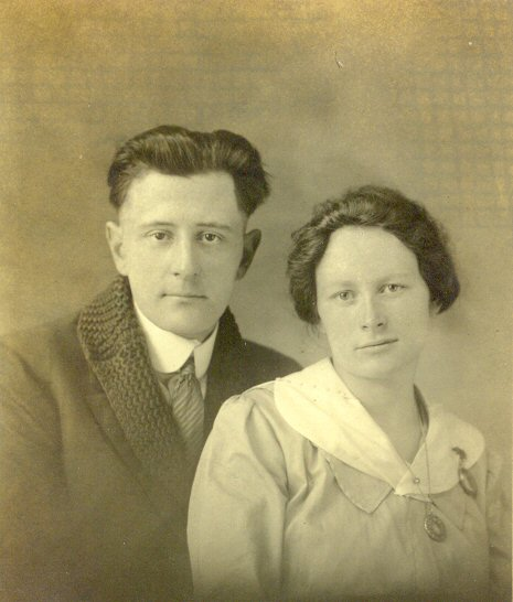 Myrtle and Charles Haun
